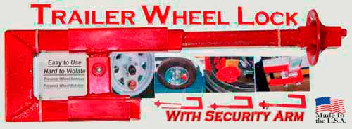 The Wheel Lock with Security Arm